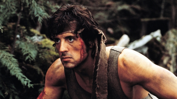 """Sylvester Stalone in """"Rambo: First Blood"""""""